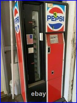 Vintage pepsi vending machine