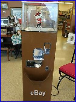 Vintage popcorn vending machine