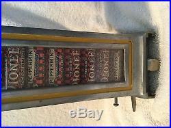 Vintage side vendor for SLOT MACHINE, vending, 5 cent, mills, Jennings, Rockola
