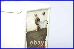 Vintage single column condom vending machine SHEATH 4x4x31 with Key