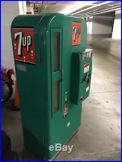 Vintage soda vending machine