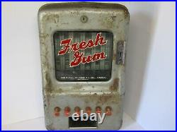 Vintage stoner fresh gum penny coin vending machine