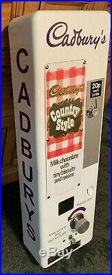Vintage vending machine Cadburys non working please read