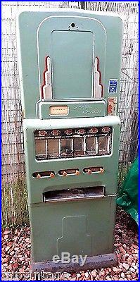 Vtg 1940s 1950s STONER (180) Coin Operated Candy Vending Machine (No Reserve)