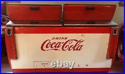 Vtg 1950s Coke Machine, Cavalier, Coca-Cola, Cooler Vending Chest