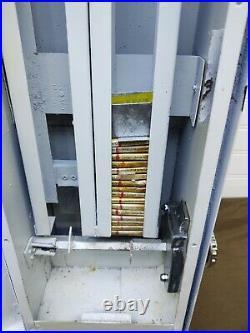 Vtg Condom Vending Machine Health Gards with 15 Condoms 50¢ Keys Man Cave
