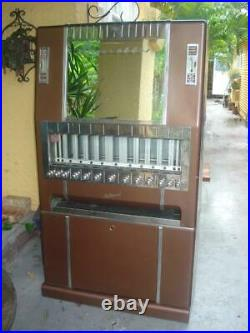 Vtg NATIONAL Commercial Cigarette Vending Machine Original Paint Pick Up Only