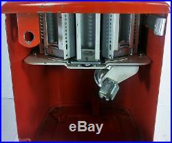 Vtg Northwestern TAB GUM Machine 1950's 1 Cent Revolving Head 10 Choices & Key