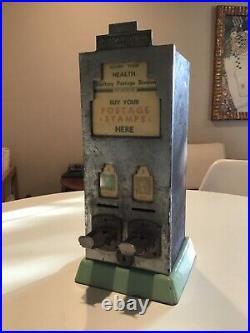 Vtg Shipman Mfg Co Postage Stamp Vending Machine 1933