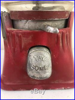 Vtg Silver King Hot Nut / Candy Dispenser Machine As Is