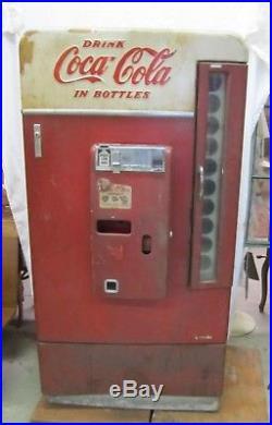 Vtg Vendo H110 Coca Cola Coke Soda Multi Bottle Vending Machine As Is WILL SHIP