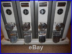 Vtg art deco gumball or candy vending machine