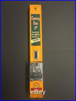 Wrigley's 5¢ Chewing Gum Machine 1920's-1930's Vintage Antique Dispenser