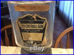 Yu Chu Gumball Machine, Penny Gumball Machine, Vintage Gumball Machine, Antique